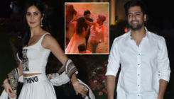 Rumored lovebirds Vicky Kaushal and Katrina Kaif steal a moment at Isha Ambani's Holi bash- watch video