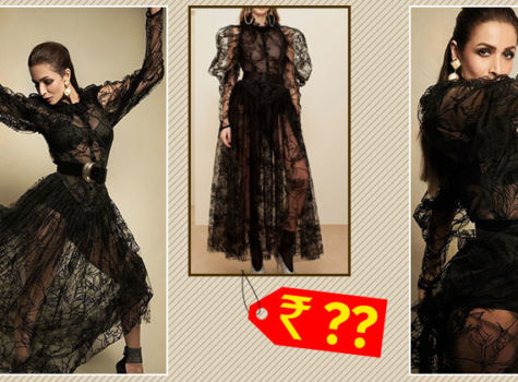 Malaika Arora's ultra-glamorous black sheer gown comes with a heavy price tag