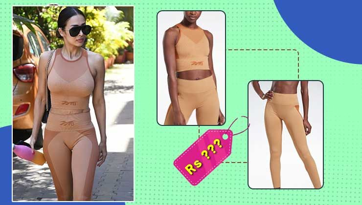 Malaika Arora's nude gym wear from Reebok x Victoria Beckham is a total paisa vasool for its worth