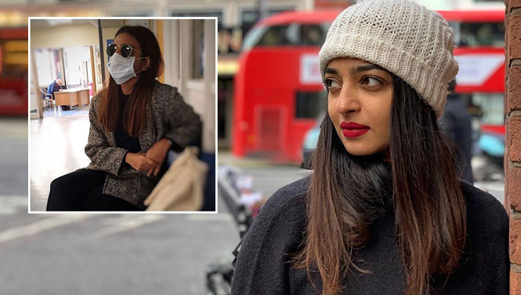 Radhika Apte leaves fans worried as she visits a hospital amidst Coronavirus scare | Bollywood Bubble