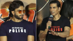 Akshay Kumar slams a reporter for calling Ranveer Singh 'Kameena'- watch viral video
