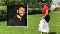 Ranveer Singh's epic reaction to Hrithik Roshan's towel look will have you ROFL
