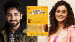 Coronavirus Outbreak Bollywood Celebs Daily Wage Workers