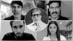#WarAgainstVirus: Amitabh Bachchan, Akshay Kumar, Ajay Devgn and Alia Bhatt come together to raise awareness