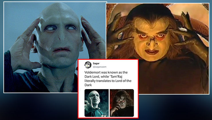 Twitterati traces shocking resemblance between 'Shaktimaan's Tamraj Kilvish and 'Harry Potter's Lord Voldemort
