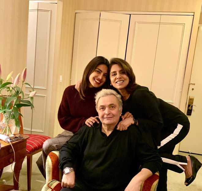 Rishi Kapoor and Priyanka Chopra