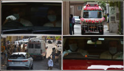 Rishi Kapoor funeral: Kareena Kapoor, Saif Ali Khan, Rajiv Kapoor arrive to pay their last respects