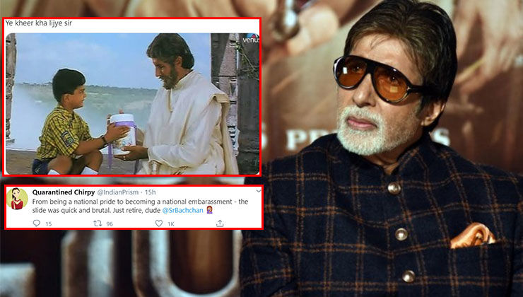 Amitabh Bachchan shares pic of glowing India on world map; netizens slam him for sharing a fake pic