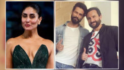 Say What! Kareena Kapoor said it would be amazing to be stuck in an elevator with Saif Ali Khan and Shahid Kapoor