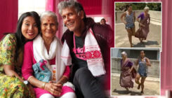 Milind Soman's wife Ankita Konwar and mom Usha working out together is the coolest thing you will see today