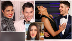Priyanka Chopra's reaction to hubby Nick Jonas dropping utensils in the background during her live chat is a must watch- video