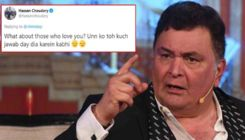Rishi Kapoor blasts Twitterati again for talking sh*t about his lifestyle