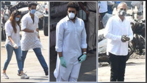 Rishi Kapoor funeral: Abhishek Bachchan, Anil Ambani, Armaan Jain arrive to pay their last respects