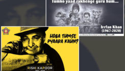 Amul and Mumbai Police pay a heartfelt tribute to Rishi Kapoor and Irrfan Khan- view pics