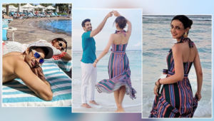 These throwback pics of Sanaya Irani's vacation with hubby Mohit Sehgal will help you beat the lockdown blues