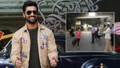 Vicky Kaushal joins neighbours as they welcome back 11-year-old girl after she recovers from Covid-19 - watch video