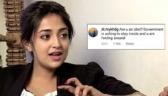Monali Thakur hits back at a troll who calls her 'an idiot' for stepping out of the house amidst lockdown