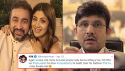 Raj Kundra's epic reply to Kamaal R Khan's claims of using wife Shilpa Shetty's star status will leave you in splits