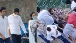 Ranbir Kapoor & Riddhima Kapoor immerse Rishi Kapoor's ashes at Banganga; Alia Bhatt stands strong by the family