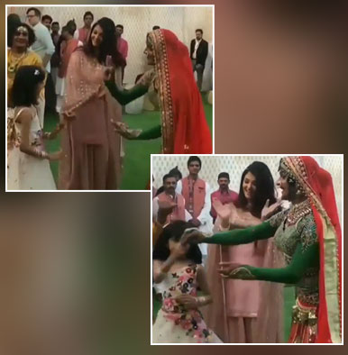 Aishwarya Rai looks ecstatic to see daughter Aaradhya Bachchan dance happily - watch video