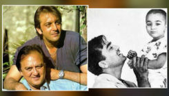 """Sanjay Dutt shares heartwarming childhood picture with Sunil Dutt; says, """"Miss you today and everyday Dad"""""""