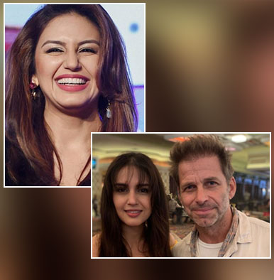 Huma Qureshi's hilarious online banter with 'Superman' director Zack Snyder will make you go ROFL