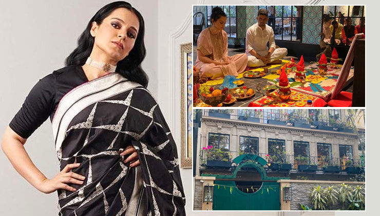 Kangana Ranaut gives a sneak peek into her lavish office-cum-studio in Pali Hill- check inside pics and video