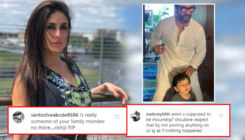 "Kareena Kapoor trolled for posting Saif Ali Khan and Taimur's picture; netizens say, ""Aren't you supposed to be mourning?"""