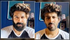 Kartik Aaryan shares a hilarious video of his mother tricking him into getting rid of his beard- watch
