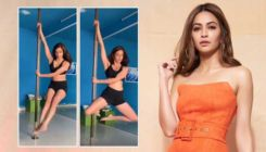 Kriti Kharbanda slays in a throwback video of pole dancing; regrets for not installing a pole at home
