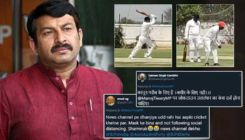 Ex-'Bigg Boss' contestant Manoj Tiwari slammed for breaking lockdown rules by not wearing masks while playing cricket