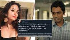 Nawazuddin Siddiqui's wife Aaliya lashes out at actor's PR team for LEAKING 'fabricated legal notice'