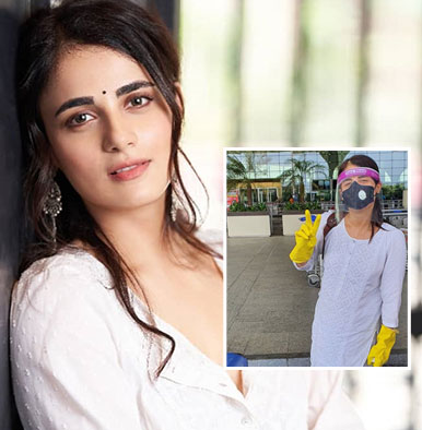 Radhika Madan flies off to Delhi amidst strict security checks; shares a cute message for her mom