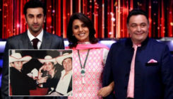 Major throwback pic of Ranbir Kapoor aiming toy gun at father Rishi Kapoor goes viral