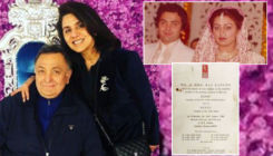 Rishi Kapoor-Neetu Singh's wedding reception card from 1980 goes viral online
