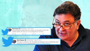 5 Times Rishi Kapoor went into a fierce Twitter battle with trolls