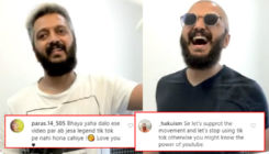 Riteish Deshmukh reveals his new bald look via TikTok; fans request him to delete the Chinese app