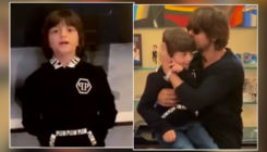 Shah Rukh Khan's son AbRam steals the show as he tells dad to stop singing,