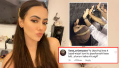 Sana Khaan blasts a troll who questions her religious beliefs and slams her for flaunting her body in movies
