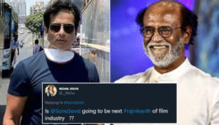Sonu Sood wins the internet with his witty reply when a fan asked if he's going to be the next Rajinikanth