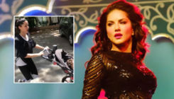 Sunny Leone turns 'atmanirbhar'; wears 10 kg shirt for workout during home-quarantine - watch video