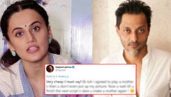 Taapsee Pannu lambasts Sujoy Ghosh for insinuating she wasn't a good mom in 'Badla'; actress hits back,
