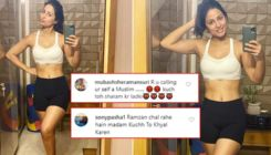 Hina Khan brutally slammed for posting workout pictures during Ramadan; trolls say,