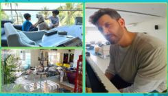 Inside pictures of Hrithik Roshan's swanky sea-facing home where he is quarantining with ex-wife and kids