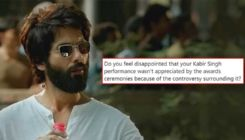 Shahid Kapoor wins the internet with his reply to not receiving any awards for 'Kabir Singh'