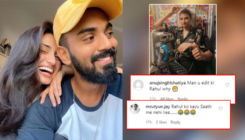 Athiya Shetty crops beau KL Rahul from her latest post; netizens think they've broken up and ask