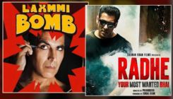 Salman Khan's 'Radhe' and Akshay Kumar's 'Laxmmi Bomb' trend online as they were to clash at the box-office today