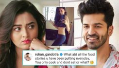 Tejasswi Prakash trolled by Rohan Gandotra as she flaunts her toned abs