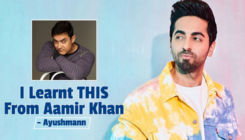 Ayushmann Khurrana learnt THIS from Aamir Khan