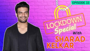 Sharad Kelkar WARNS Fans To Not Venture Outdoors & Spend Quality Time With Family During Lockdown